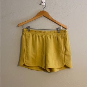 Chartreuse Retro Pull-on Shorts